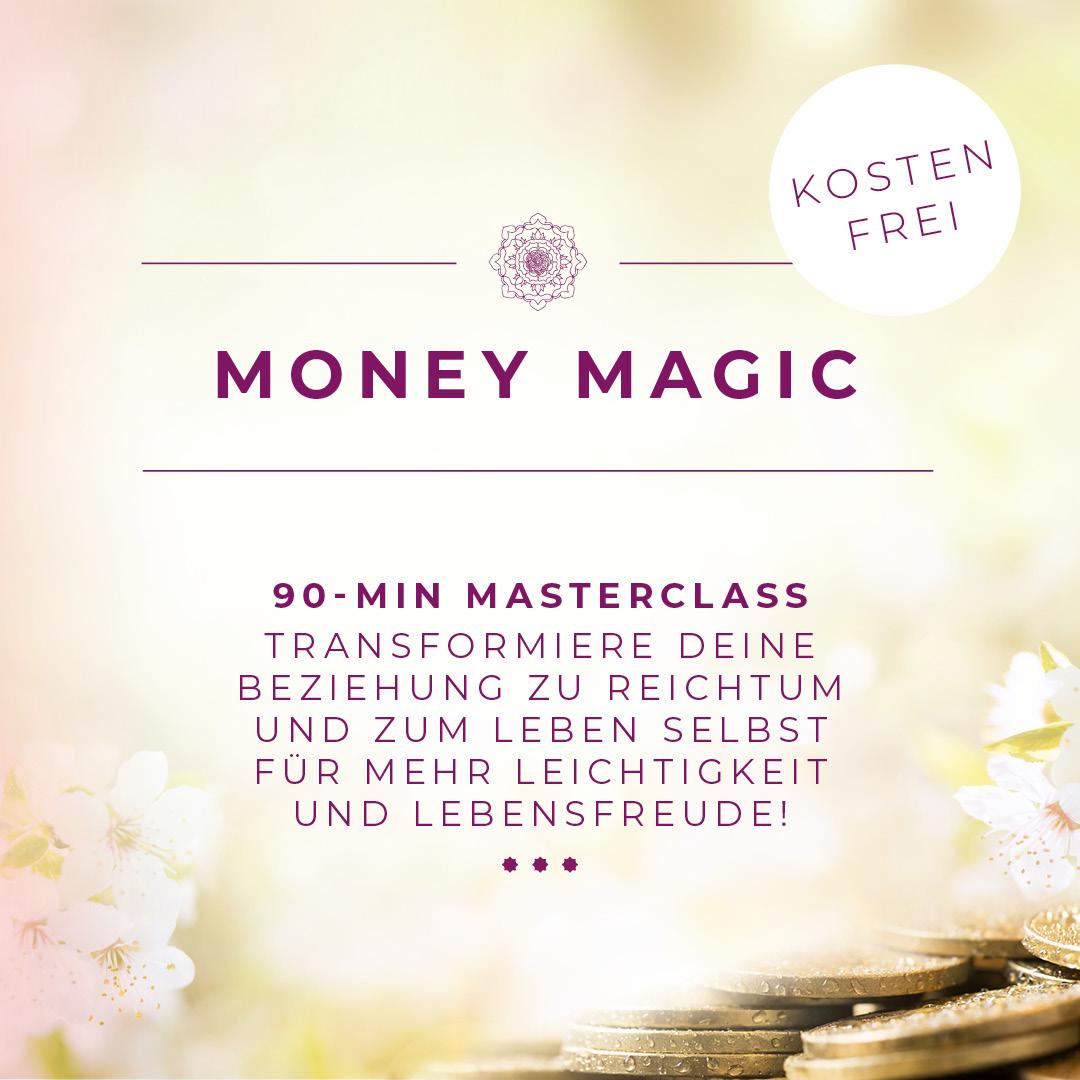 90-min Masterclass Transformiere deine beziehung zu reichtum und zum leben selbst für mehr leichtigkeit und lebensfreude!